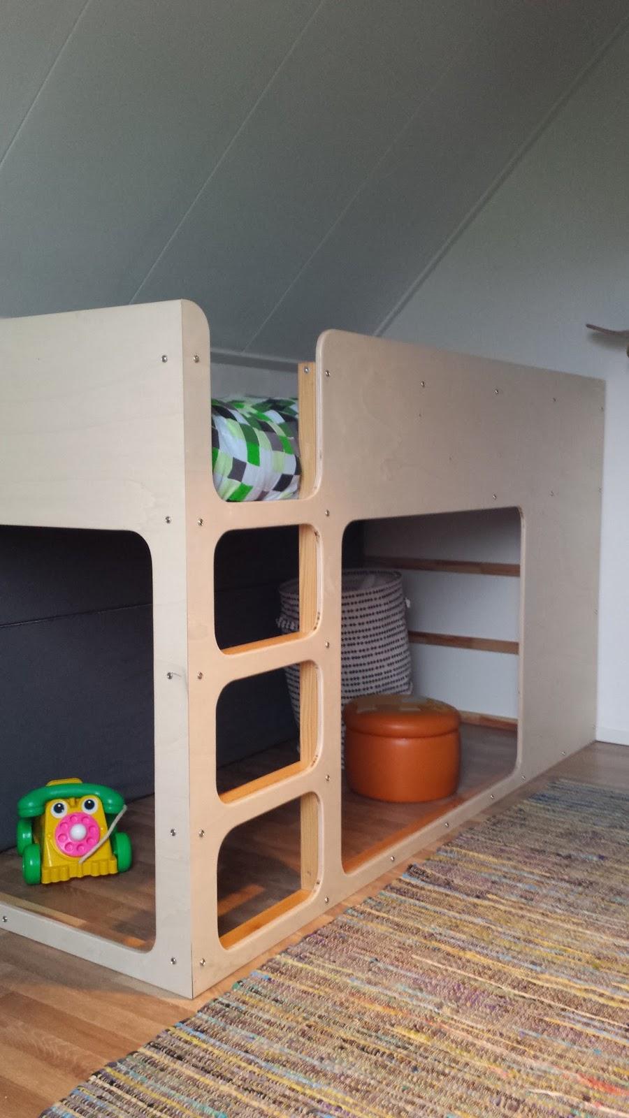 ikea kura hack ondeugende spruit. Black Bedroom Furniture Sets. Home Design Ideas