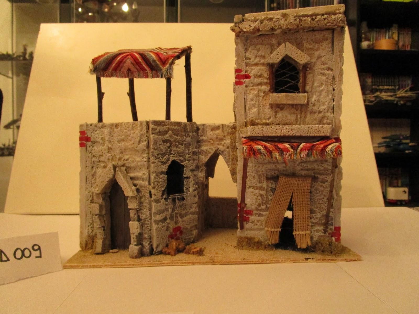 Accessori presepe di babu e meme giga casetta araba for Costruire una semplice capanna di legno