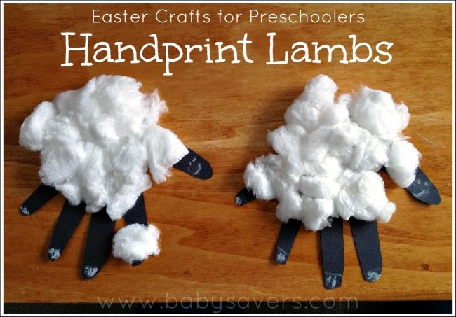 http://www.babysavers.com/easter-crafts-for-preschoolers/