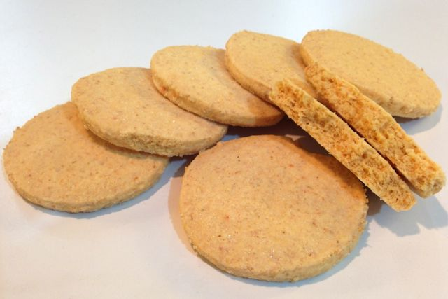 Gluten-Free Vegan Shortbread biscuits