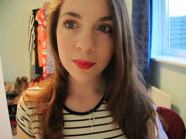 YSL VERNIS À LÈVRES GLOSSY STAIN IN ROUGE GOUACHE #BEAUTYREVIEW