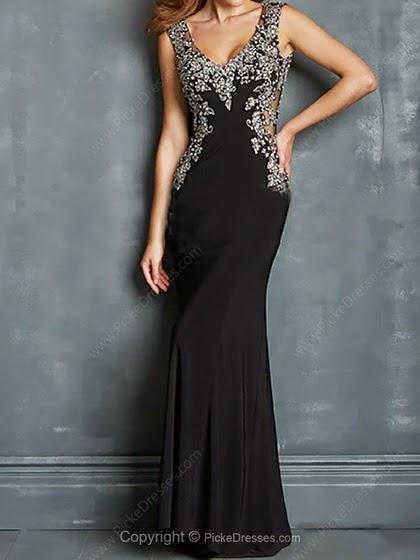 abito nero da sera abito elegante mariafelicia magno fashion blogger colorblock by felym