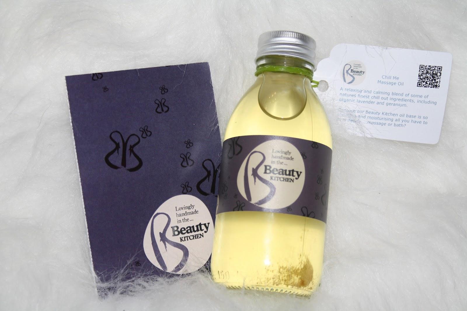 Beauty Kitchen Massage Oil