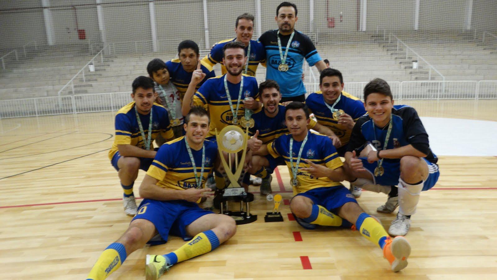 TRANSCOELHO CAMPEÃO FUTSAL 2015 - primeira divisão