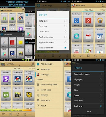 AppMgr Pro III (App 2 SD) v3.10 Apk for Android