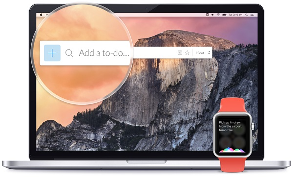 Wunderlist for Mac & Apple Watch update brings Quick Add, Smart Due Dates features