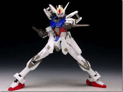 Robot Damashii Aile Strike Gundam review