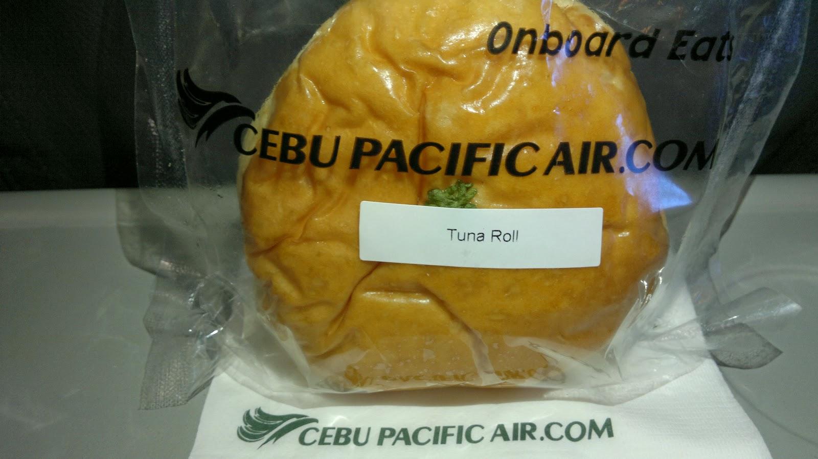 Place: Cebu Pacific Air - Tuna Bun