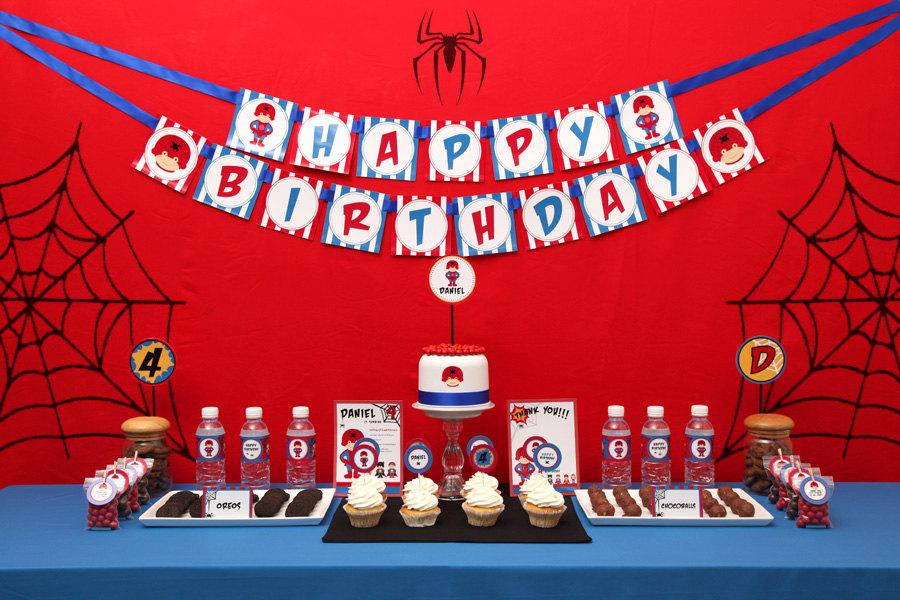Birthday Party Ideas Birthday Party Ideas Spiderman