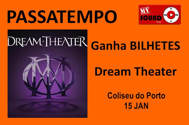Passatempo Dream Theater Coliseu do Porto