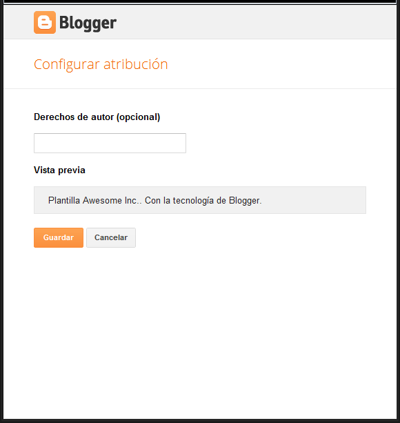 Configurar gadget Attribution