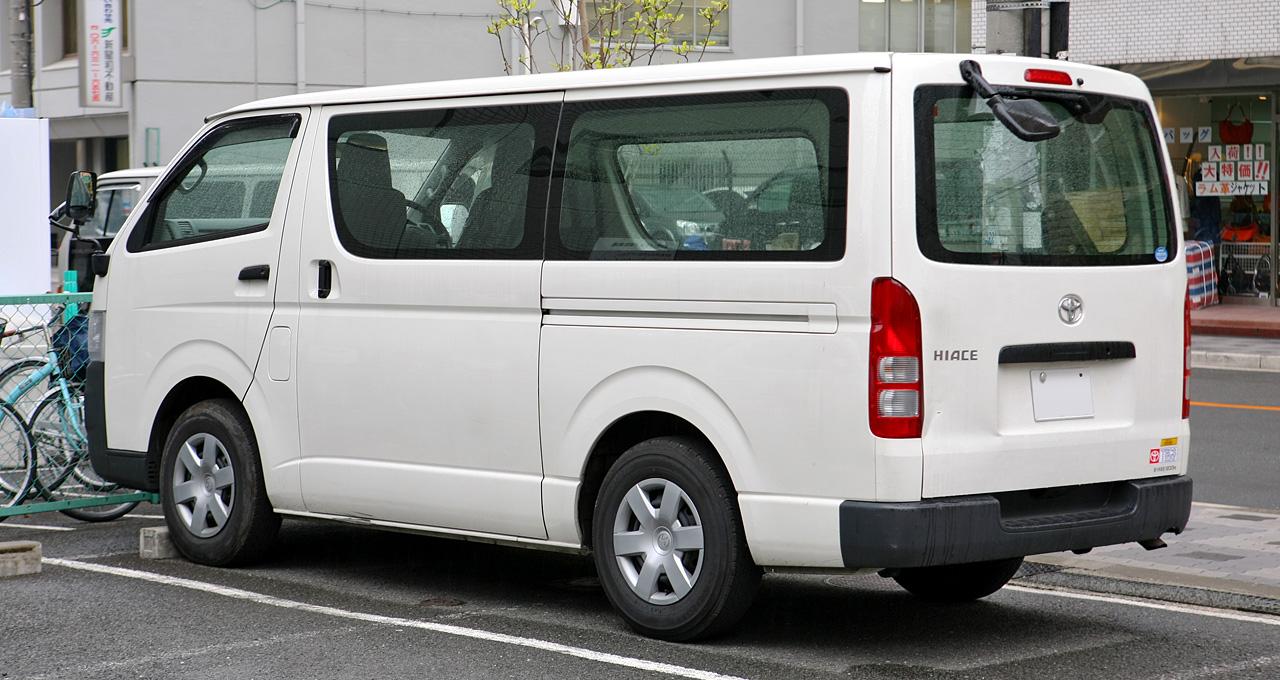 Car Images Toyota Hiace