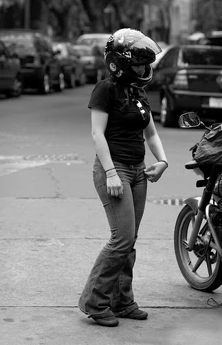 The Martial Artist and the Motorcycle | By Morgan Sansotta | Biker Babe | Biker Chick | Grease n Gasoline Reader | Way2speed.com