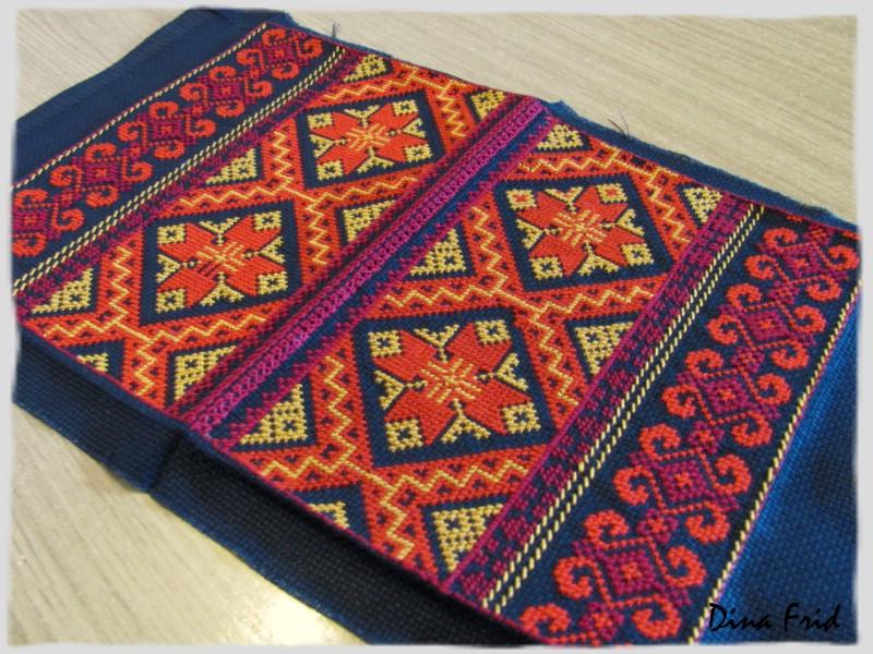 Армянские узоры вышивка 1