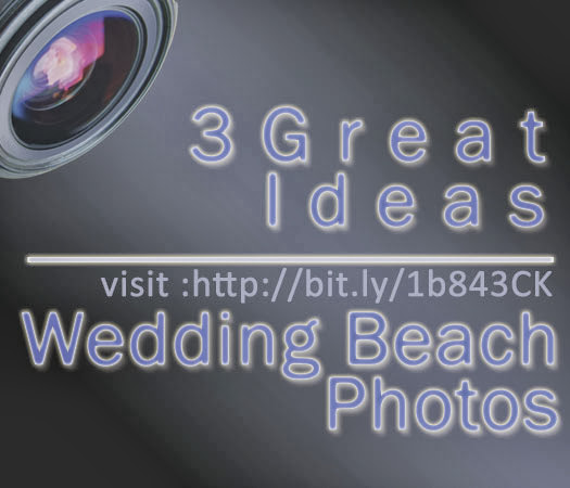 ideas for beach wedding photos for place and equipment