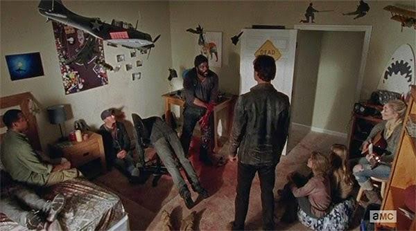 La mente de Tyreese antes de morir en The Walking Dead 5x09