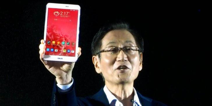 Dünyanın En Hafif LTE Tableti: Asus Memo Pad 8