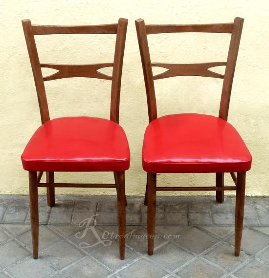 Retroalmacen tienda online de antig edades vintage y decoraci n pareja de sillas antiguas - La boutique de la silla madrid ...