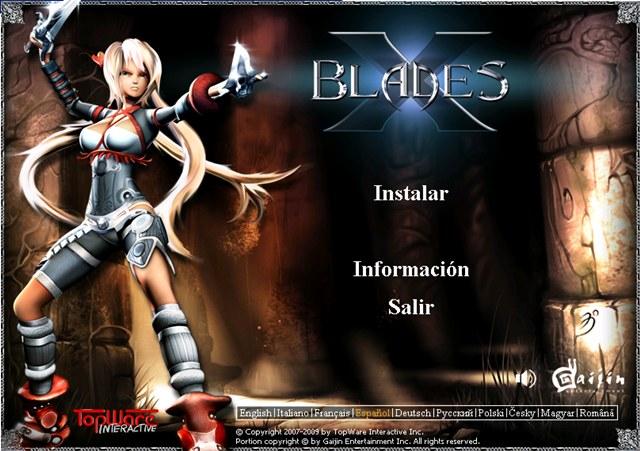 X-Blades PC Full Español
