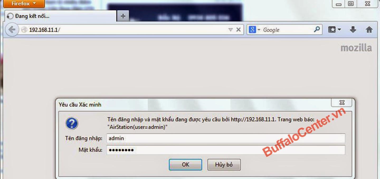 huong dan cai dat wifi buffalo wzr-d1100h