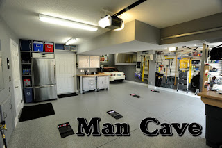 organize your man cave
