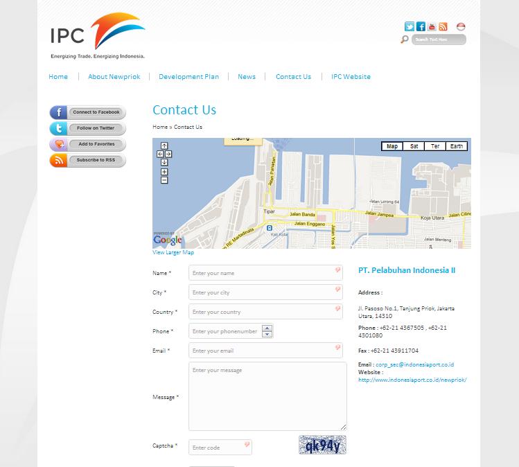 New Priok Port