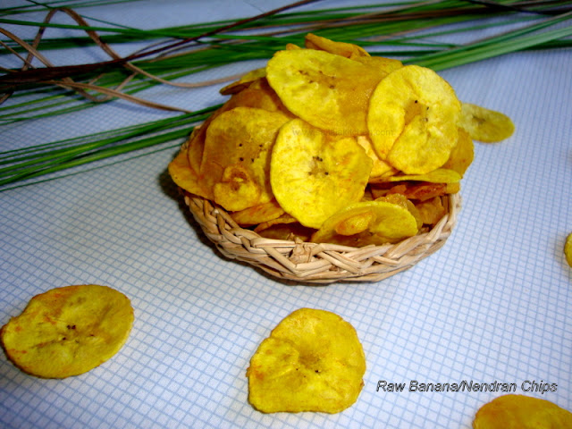 how to make raw banana chips