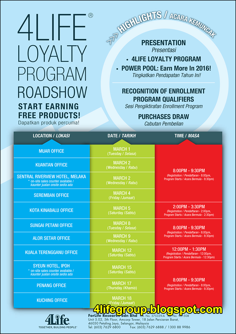 foto 4Life Loyalty Program Roadshow (2)