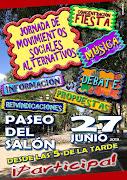 Jornada colectivos Segovianos Paseo del salón 27 Junio