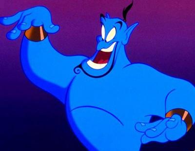 Walt Disney Aladdin Genie Wallpaper