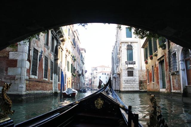 Góndola, Venecia