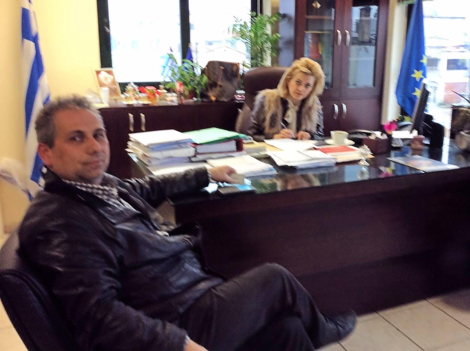 Ιστιαία: Συνάντηση δημάρχου με τον πρόεδρο του ΚΤΕΛ Εύβοιας