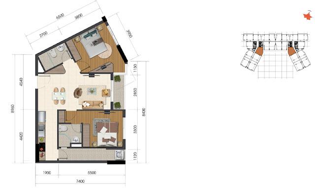 Dự án The Everrich Infinity Quận 5 căn hộ 8