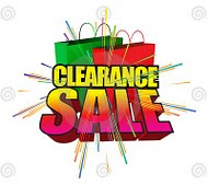 CLEARANCE SALE....