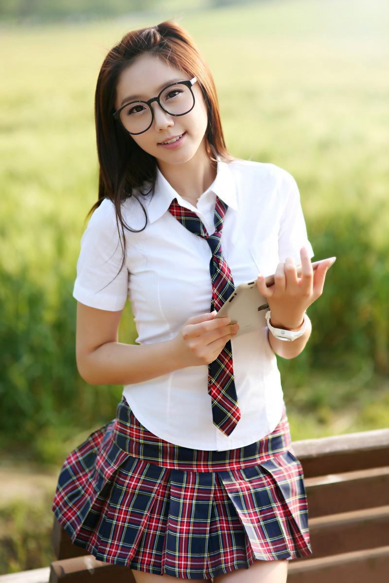 Kim Ha Eum - Cute School Girl | Asia Cantik Blog