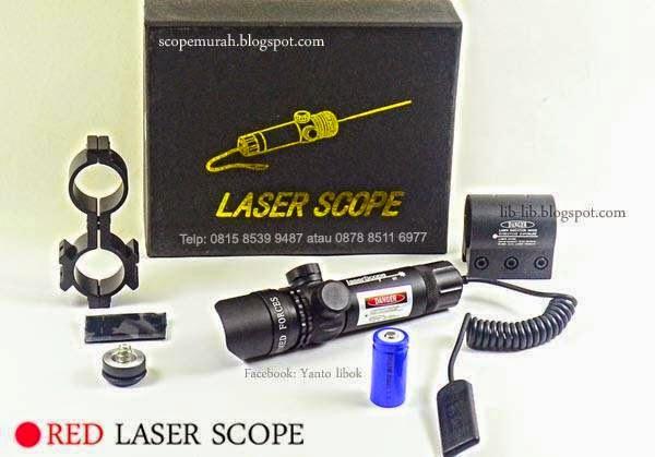 jual laser merah senapan