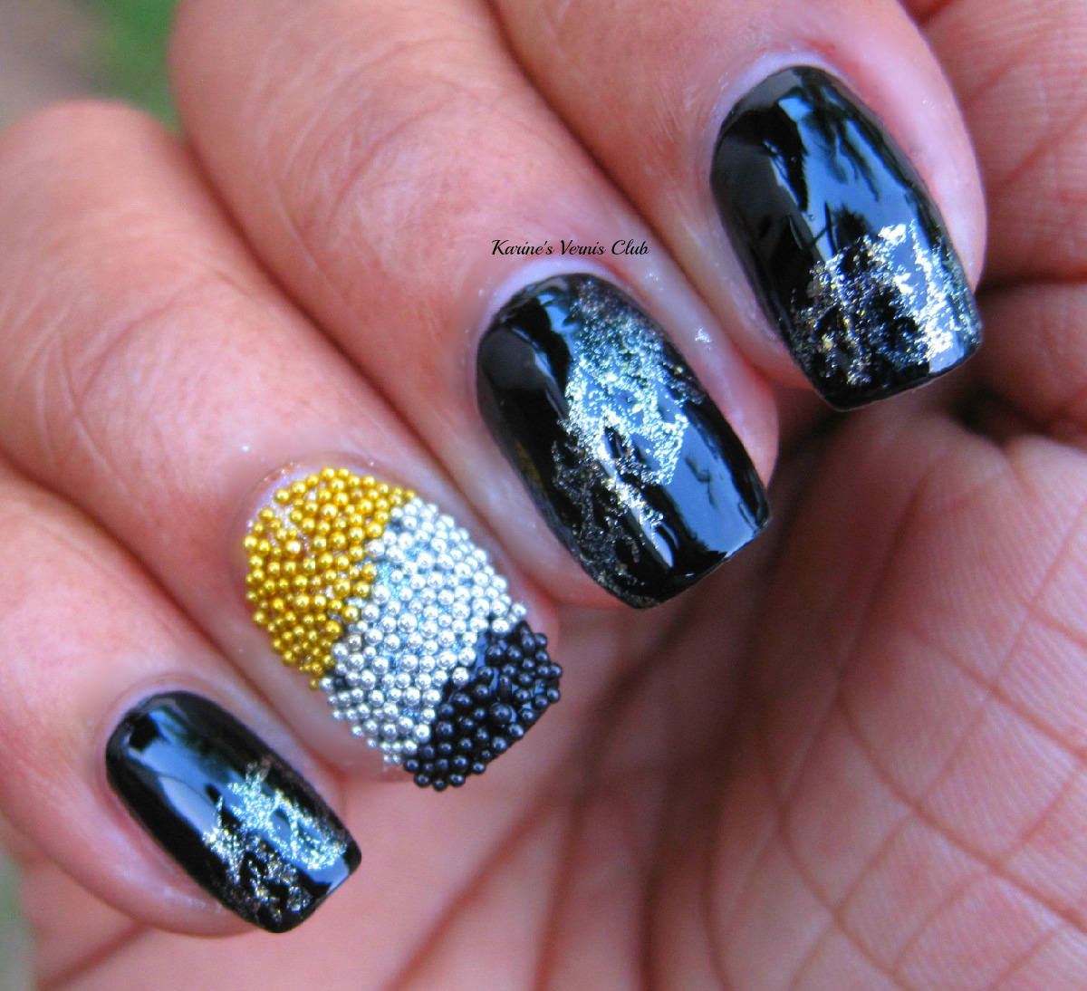 Caviar Nails: Karine's Vernis Club: Caviar Nail