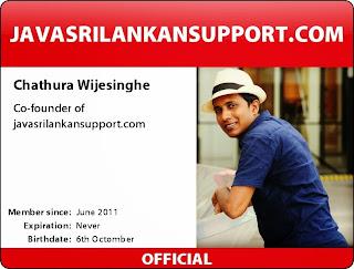 Chathura Wijesinghe - javasrilankansupport.com