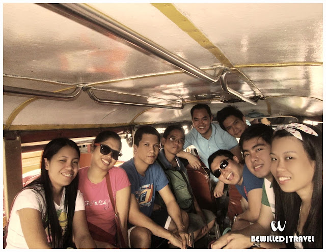 Jeepney ride from Balanga Transport Terminal to Mt. Samat and Diwa inetrsetion