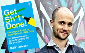 Get Sh!t Done, Niall Harbison, Entrepreneur, Guide, How To, Launch Party, Giveaway