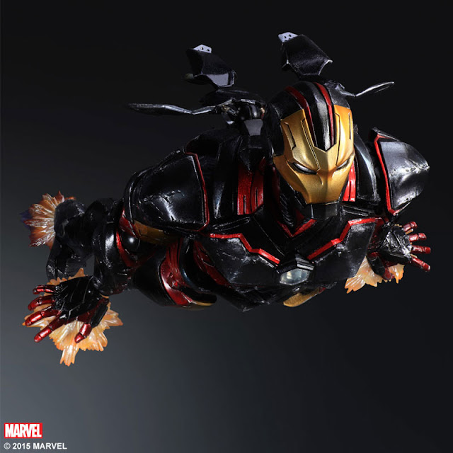 variant play arts kai iron man