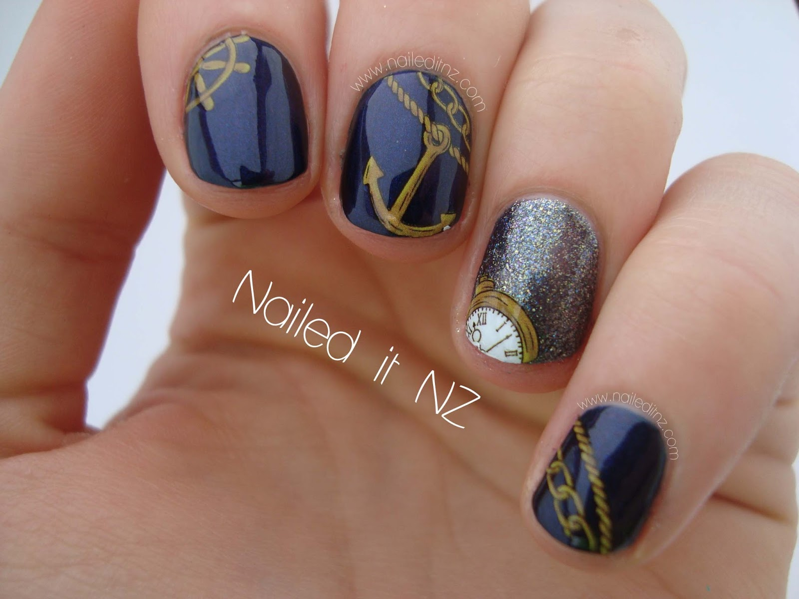 Nautical Nail Decals - 4iam