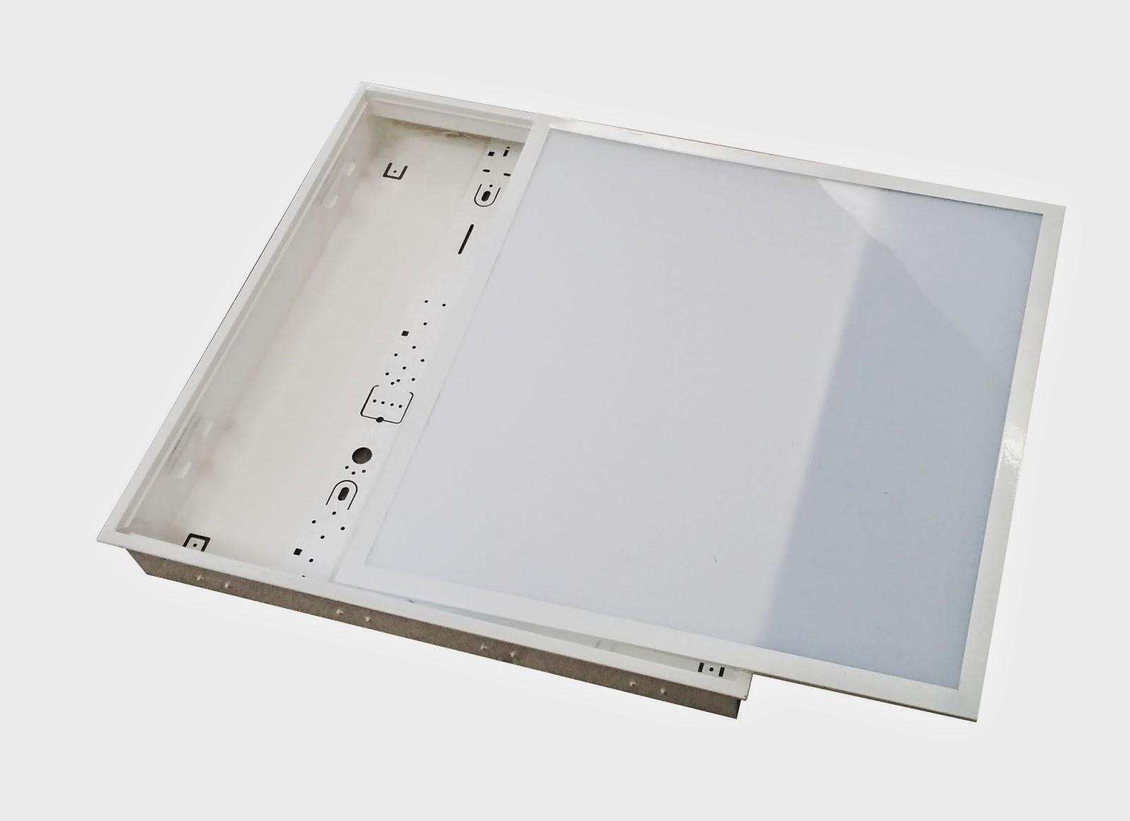Plafoniere Da Controsoffitto : Illuminazione led plafoniera da incasso con ottica opalina per