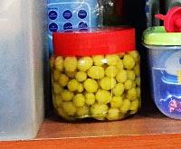 kutip buah cermai buat jeruk cermai