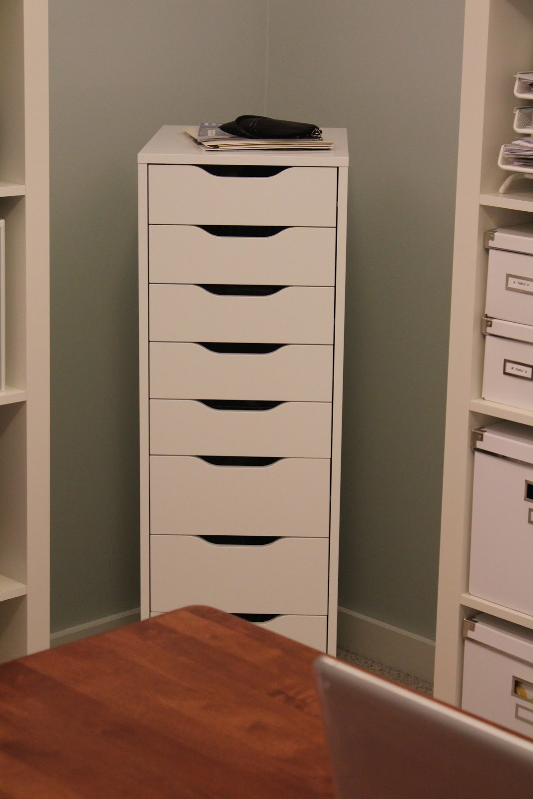 Pine Tree Home: Office: IKEA Alex Storage Drawers
