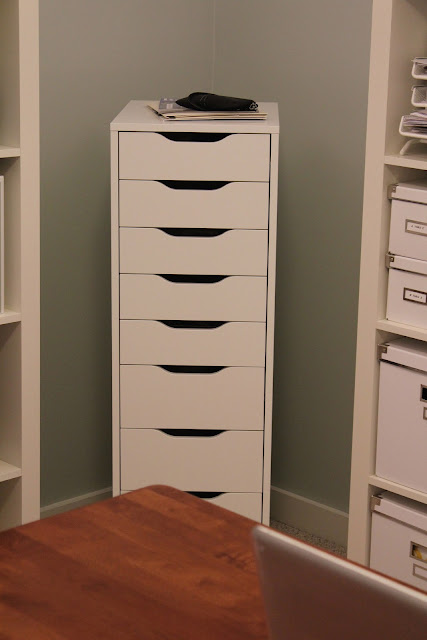 pine tree home office ikea alex storage drawers