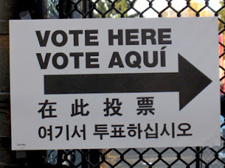 Sign in several languages