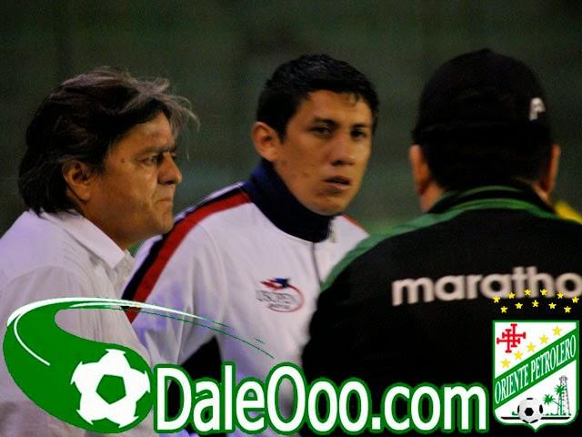 Oriente Petrolero - Jose Ernesto Álvarez - Yimy Montaño - Dorian Montero - DaleOoo.com sitio del Club Oriente Petrolero