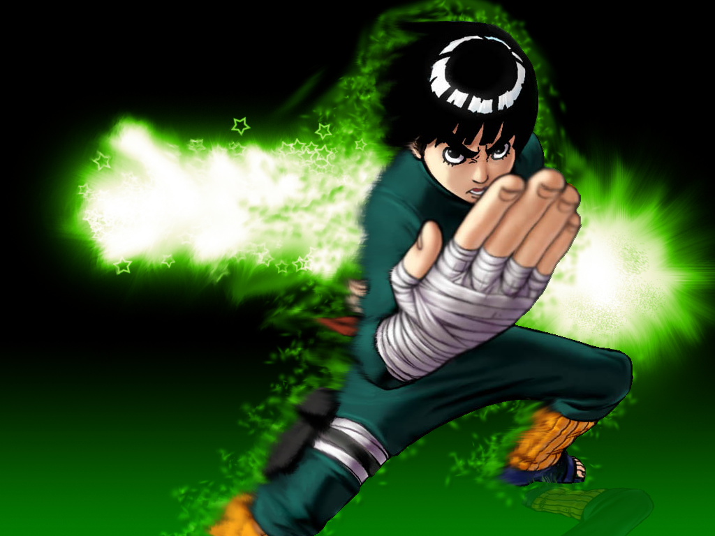 Rock Lee Coloring Pages