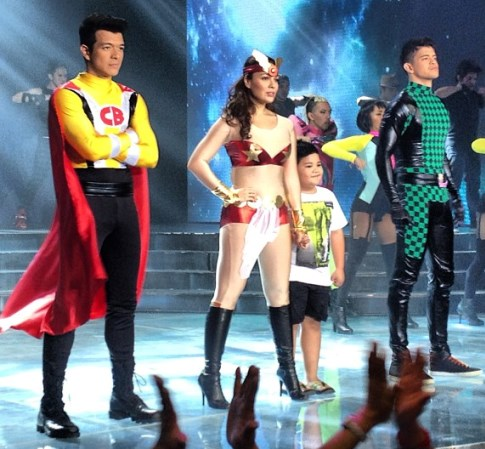 KC Concepcion as Darna and Jericho Rosales as Captain Barbell